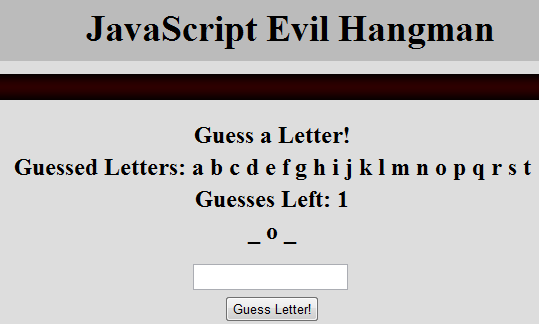 Picture of Evil Hangman