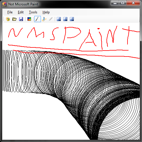 Picture of Not Microsoft Paint
